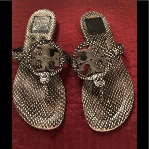 Tory Burch Miller Sandals Size 7